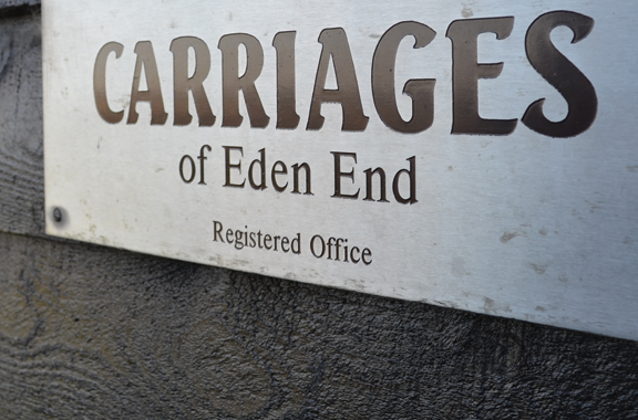 Carriages of Eden End
